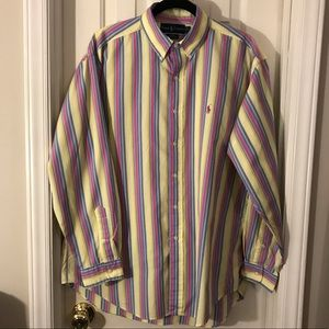 Ralph Lauren Polo Button Down - Men's Large